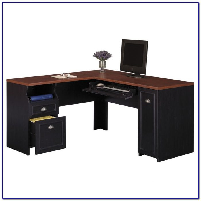 Bush Saratoga L Shaped Executive Desk Desk Home Design