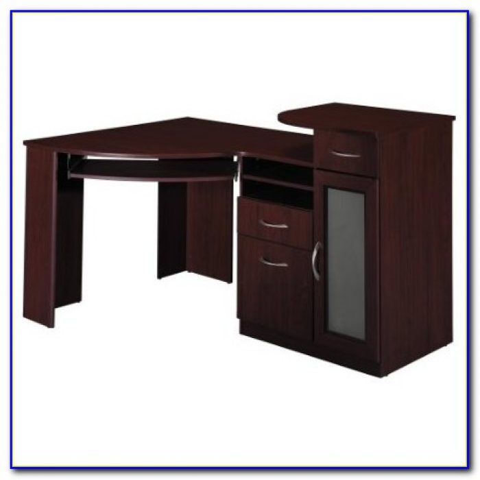 Bush furniture bush signature vantage collection corner desk black desk home design ideas - Corner desks canada ...