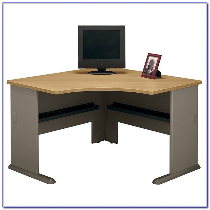 Vantage Harvest Cherry Corner Desk Desk Home Design