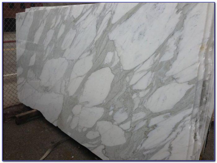 Calacatta Gold Marble Tile 18x18