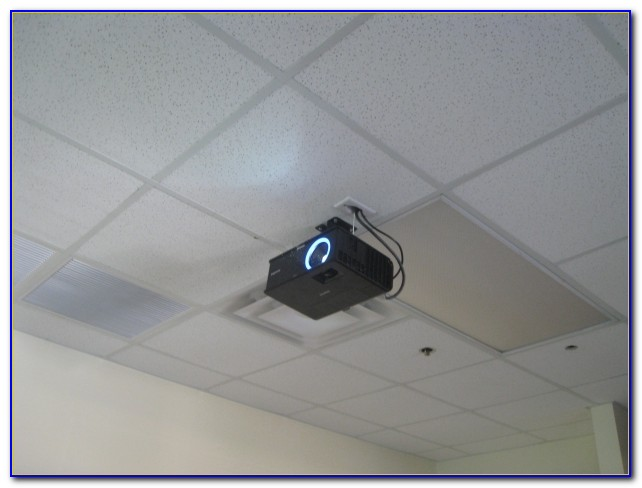 Ceiling Tile Lcd Projector Mount