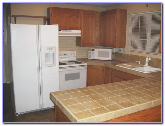 Ceramic Tile Kitchen Countertop Over Laminate