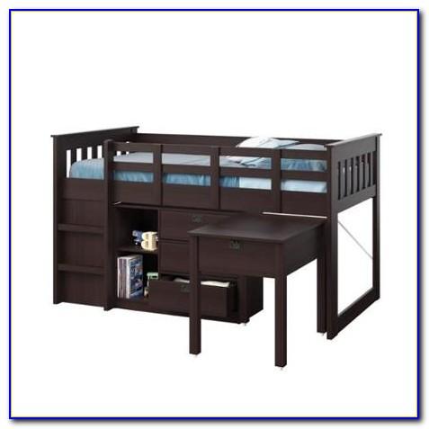 Charleston Storage Loft Bed With Desk Espresso Download