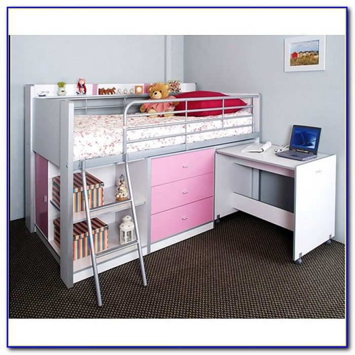 Charleston Storage Loft Bed With Desk Instructions
