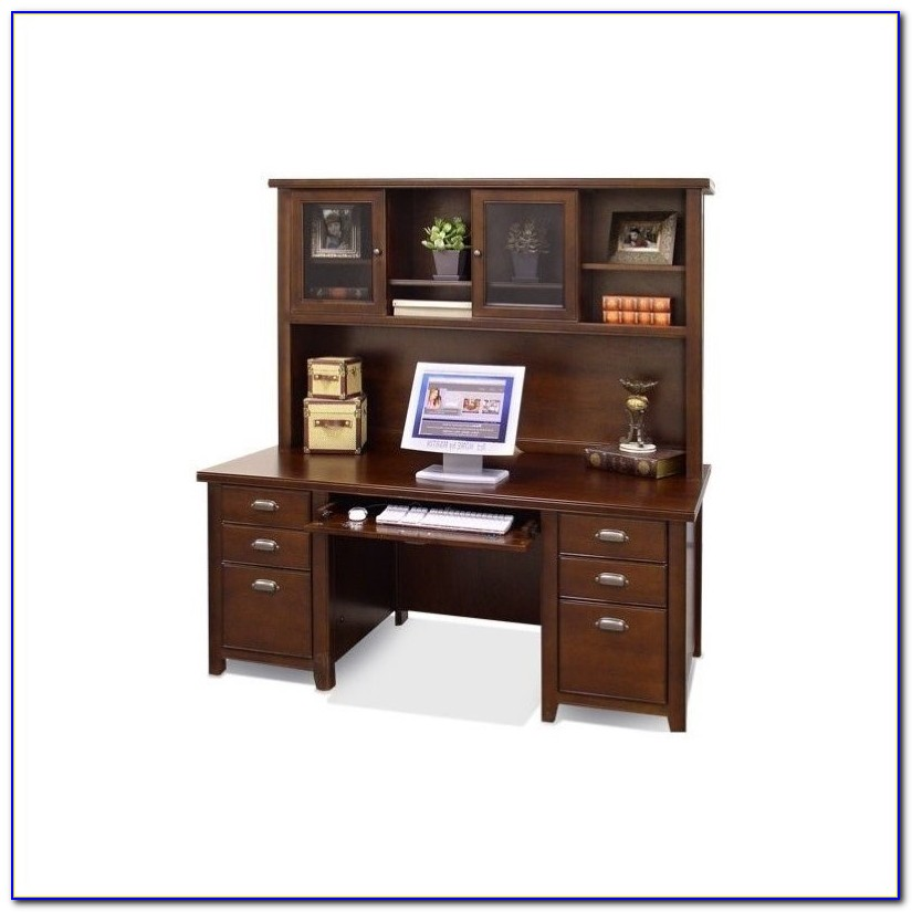 Cherry Wood Desk With Hutch Download Page Home Design