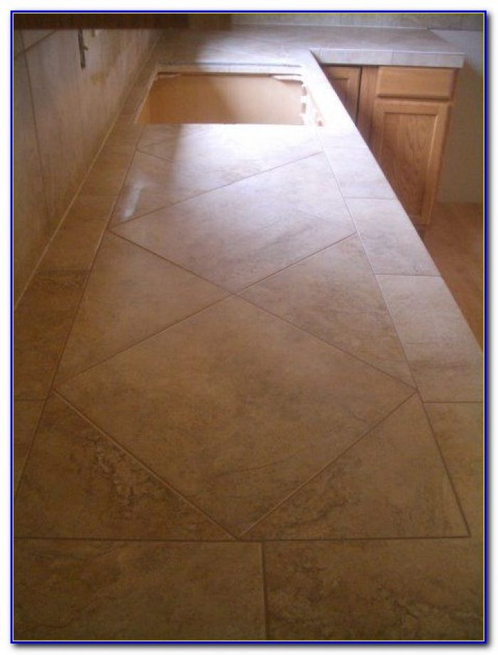 Cleaning Ceramic Tile Kitchen Countertops