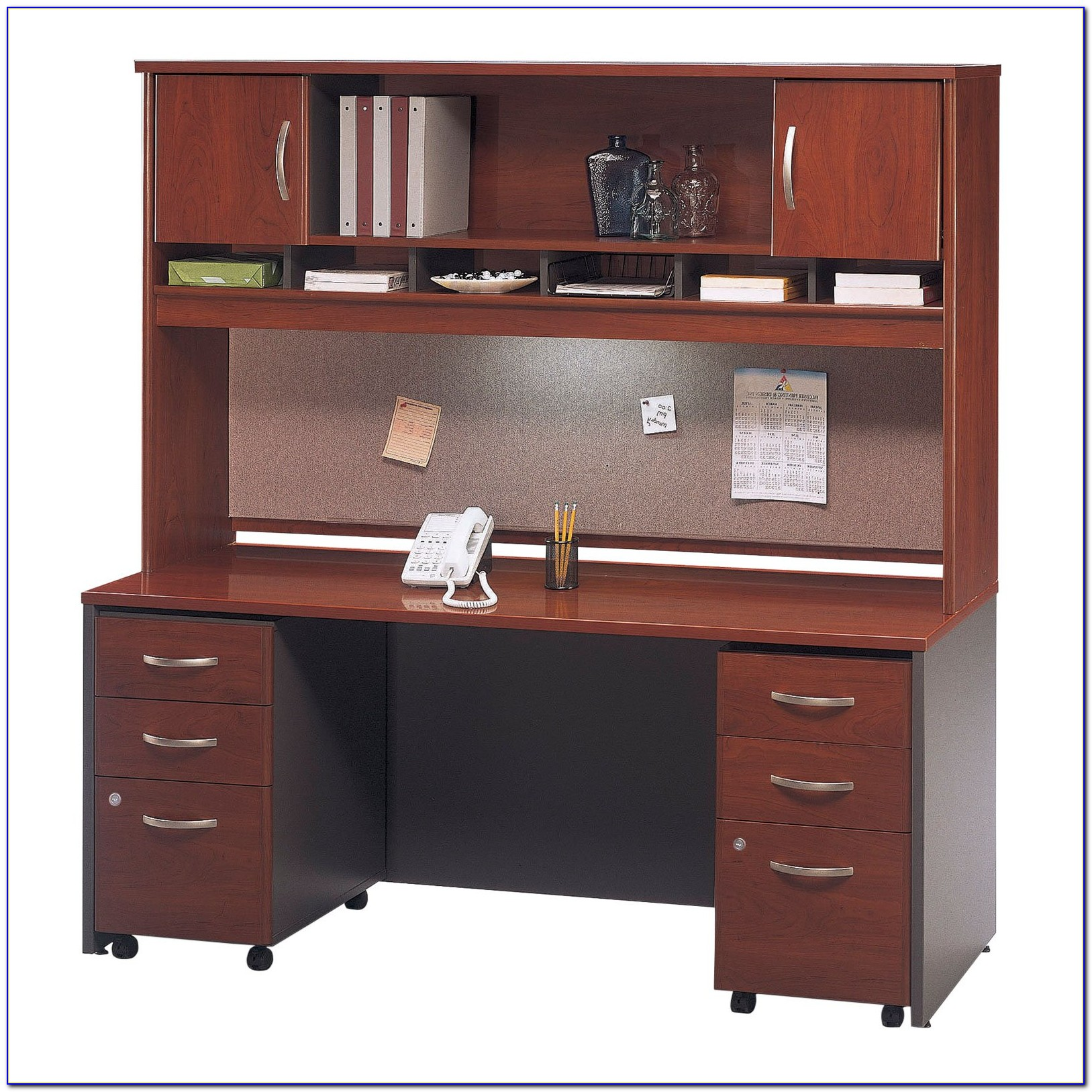 Computer Desk With Hutch And File Drawer