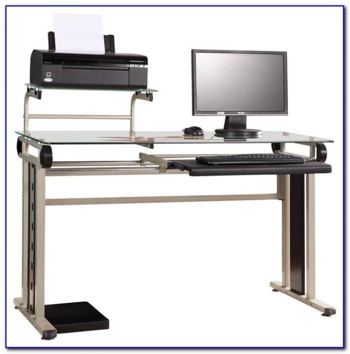Computer Desk With Printer Shelf Ikea