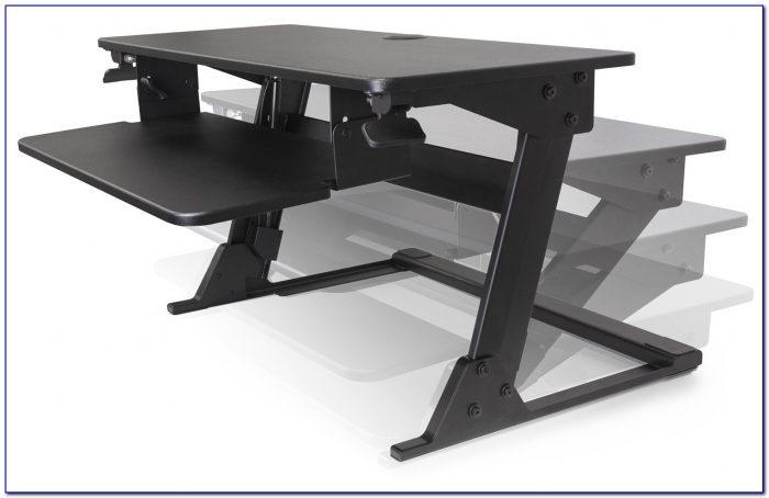 Sit and stand desk diy desk home design ideas for Decor fusion interior design agency manchester m3