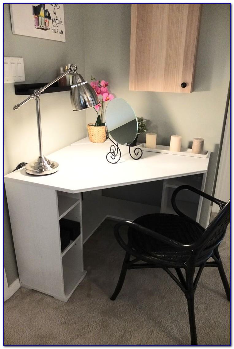 Corner computer desks for small spaces uk desk home - Corner desk for small space ...