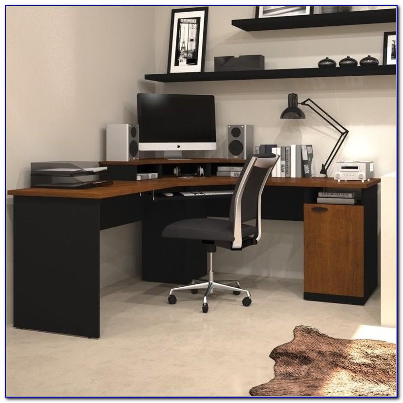 Bestar Elite Tuscany Corner Computer Desk Bestar 63 Mason
