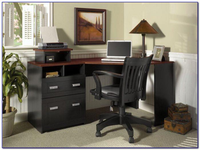 Corner Home Office Desk White