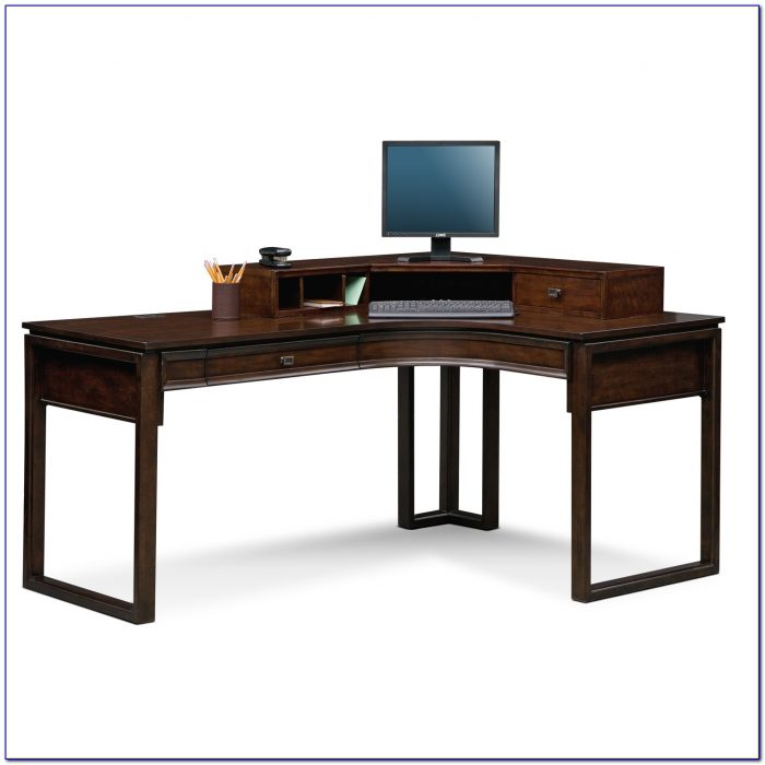 Black L Shaped Desk With Hutch Desk Home Design Ideas