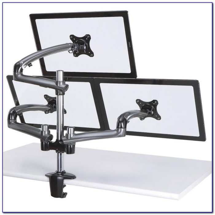 Cotytech Triple Monitor Desk Mount