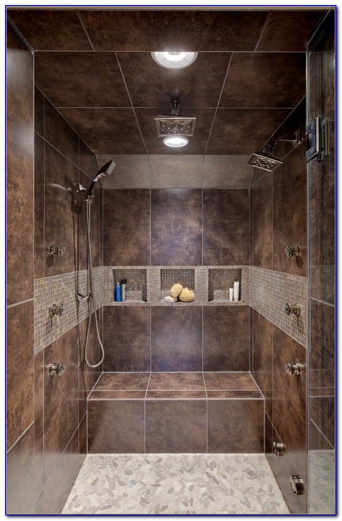 Custom Tile Shower Pan Kit Tiles Home Design Ideas