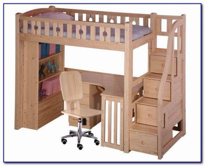 Bunk Bed And Desk Combo Ikea Desk Home Design Ideas