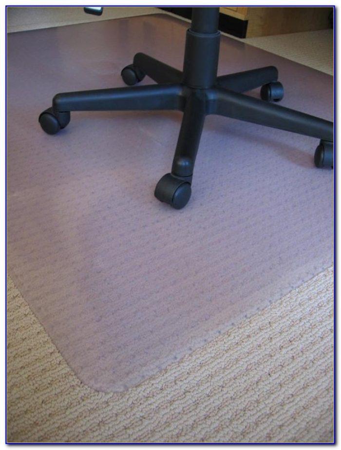 Desk mats for hardwood floors desk chair floor mats for Wood floor chair mat