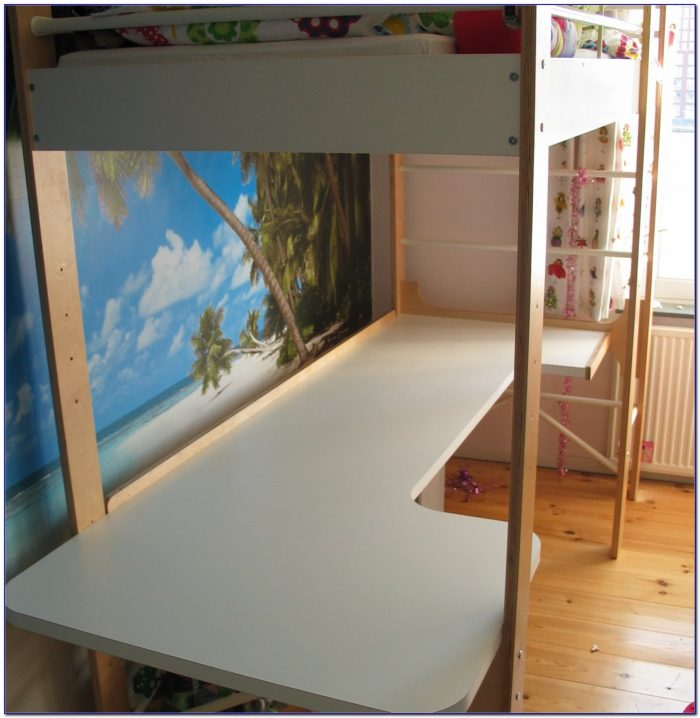 Ikea Bunk Beds With Desk Beds Home Design Ideas