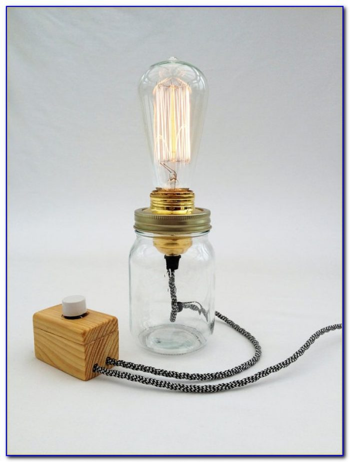 Edison Bulb Table Lamp Diy