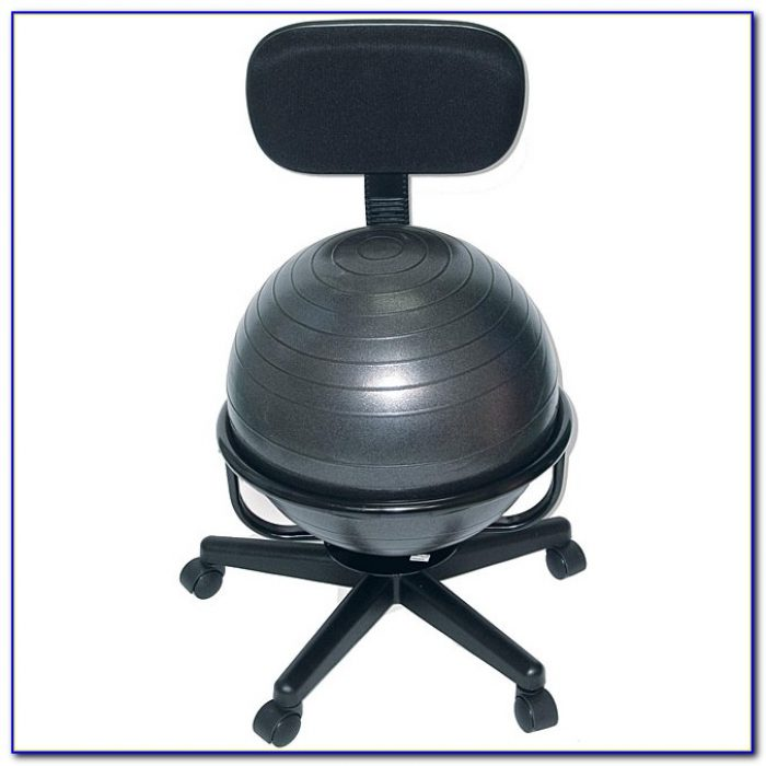Exercise Ball Office Chair Study
