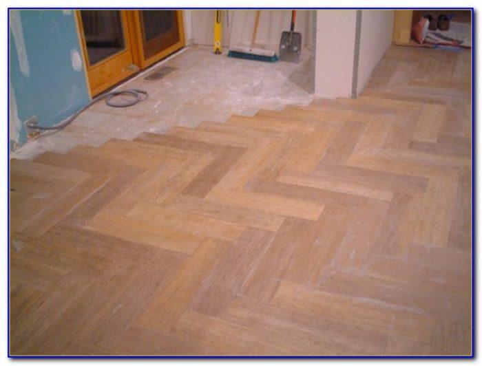 Faux Wood Porcelain Plank Tile