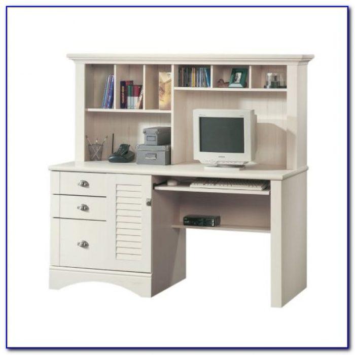 Sauder Antique White Computer Desk Desk Home Design