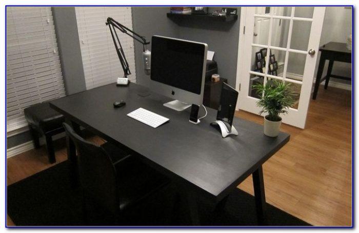 Hide Computer Cords On Desk