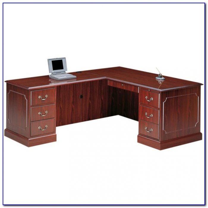 Hon L Shaped Reception Desk