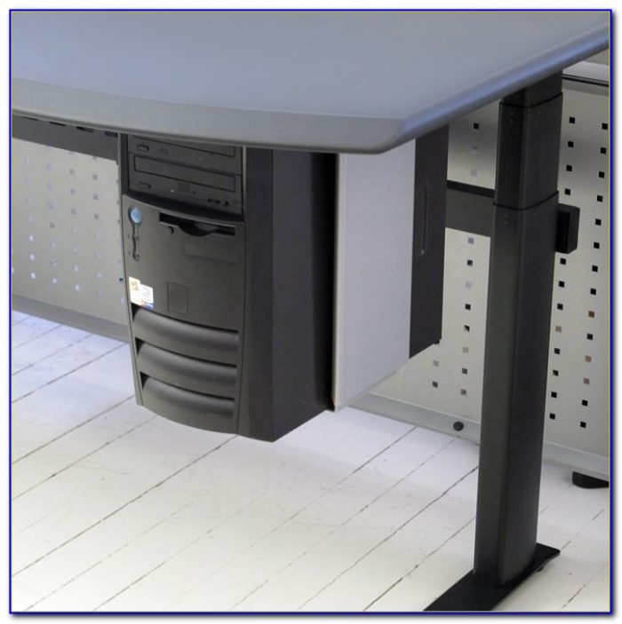 Horizontal Under Desk Cpu Holder