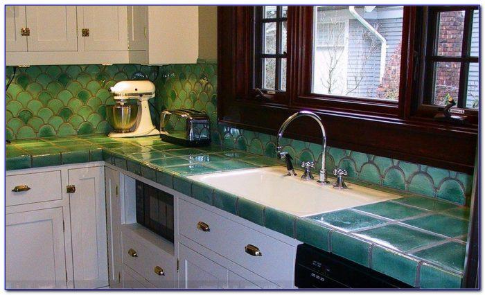 Installing Ceramic Tile Kitchen Countertops