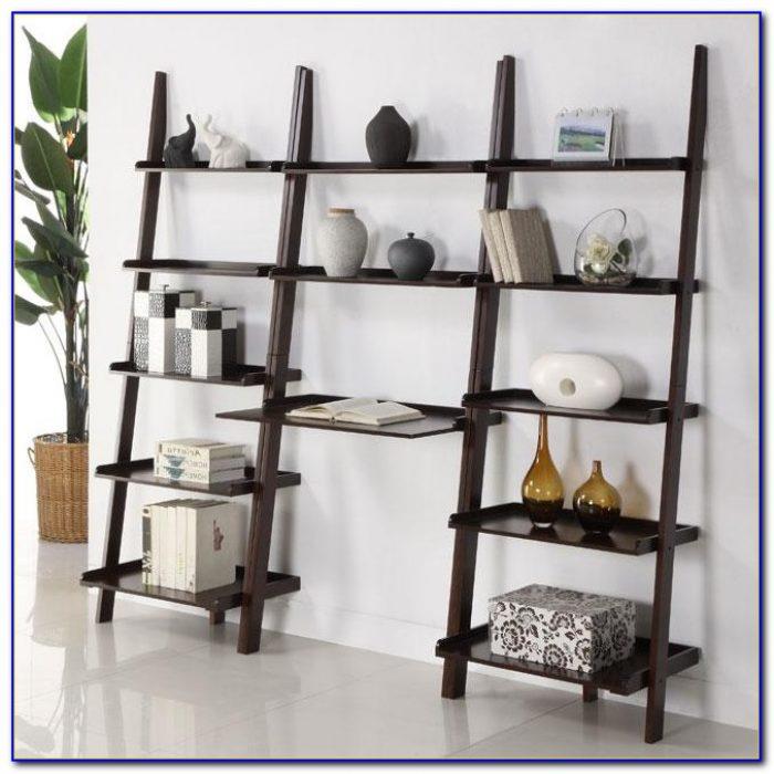 Ladder Desk With Shelf Set