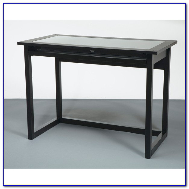 Modern Tempered Glass Computer Desk Desk Home Design