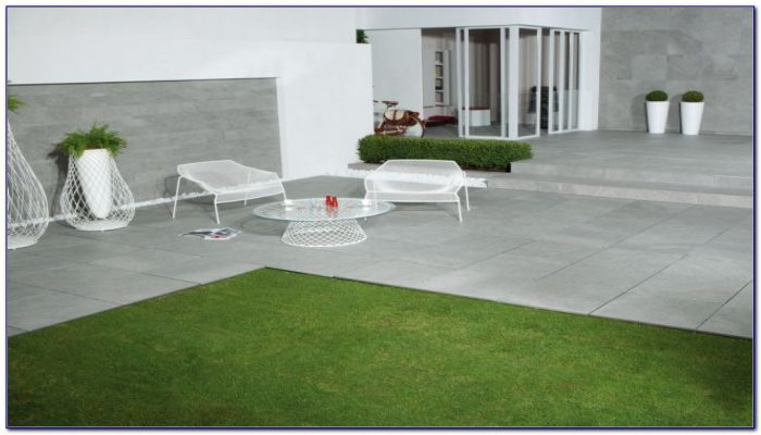 Outdoor Patio Tiles Over Concrete