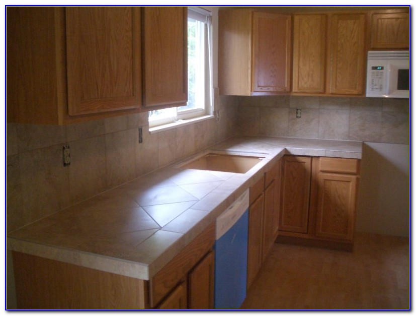 Painting Ceramic Tile Kitchen Countertops