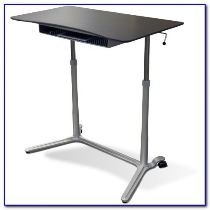 Pneumatic Adjustable Height Computer Desk Desk Home