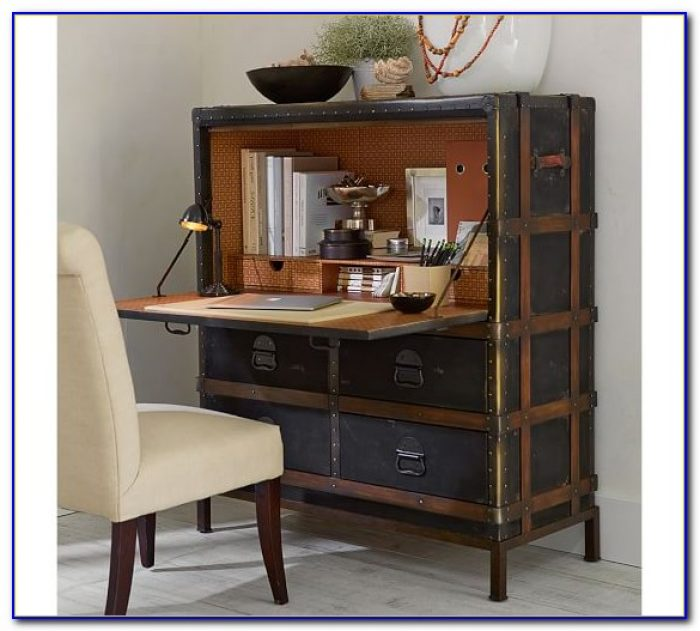 Secretary Desk With Hutch Pottery Barn Desk Home