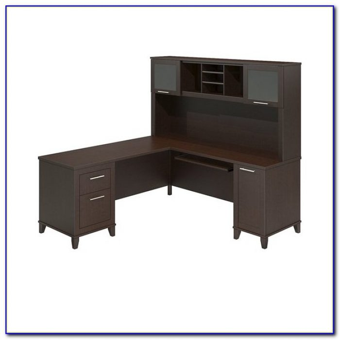 Sauder Select L Shaped Desk In Shaker Cherry Desk Home