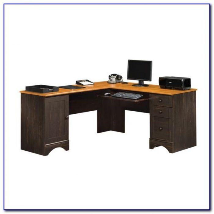 Sauder Corner Desk With Hutch Desk Home Design Ideas
