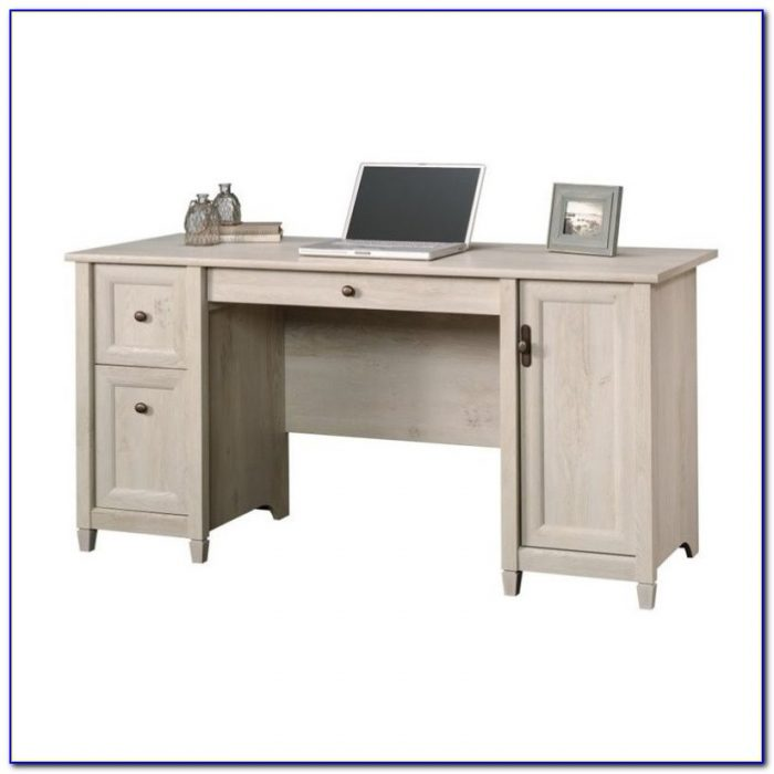 Sauder Edge Water Computer Desk With Hutch Desk Home