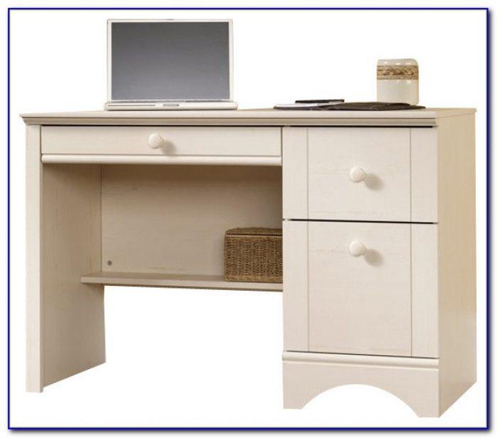 Sauder Harbor View Computer Desk With Hutch Ii Desk