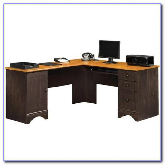 Sauder harbor view computer desk with hutch assembly instructions desk home design ideas - Sauder computer desk assembly instructions ...