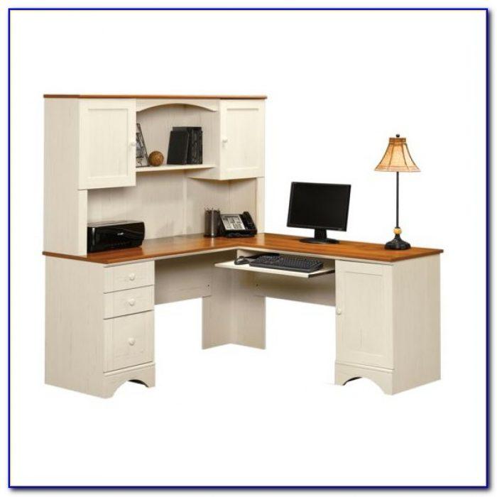 Sauder Harbor View Desk Armoire Desk Home Design Ideas