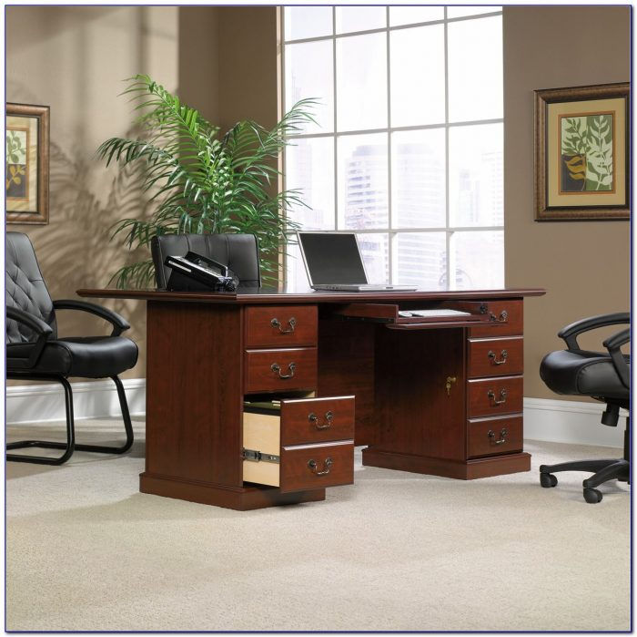Sauder Graham Hill Desk With Hutch Desk Home Design