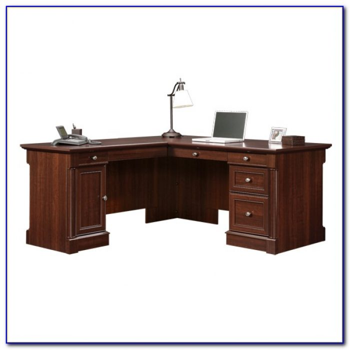 Sauder Shaped Desk Manual Palladia Computer Hutch