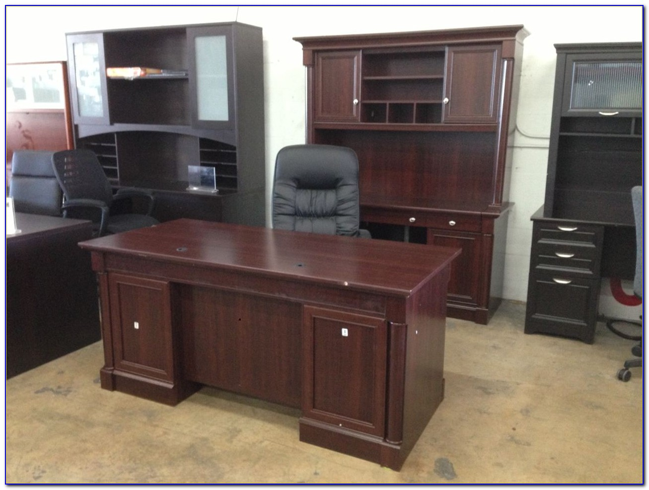 Sauder Palladia Collection Executive Desk Assembly Instructions