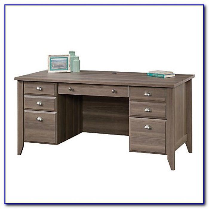 Sauder Shoal Creek Executive Desk White
