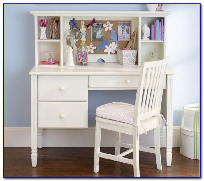 Small white desks for bedrooms