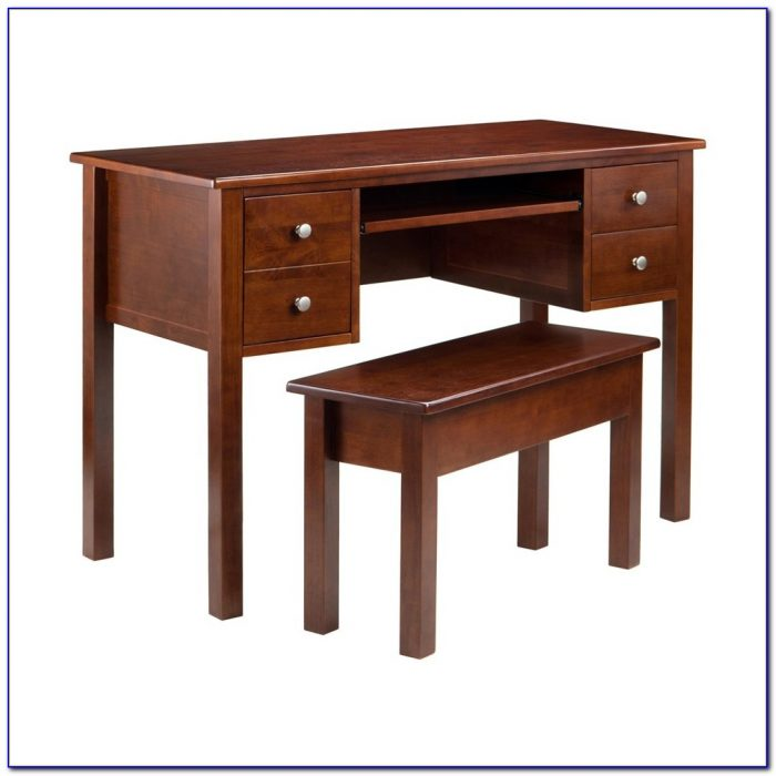 Small White Desk With Keyboard Tray Desk Home Design