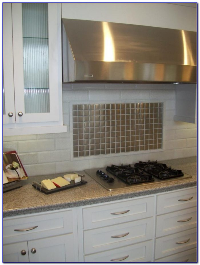 Stainless Steel Tile Backsplash Cleaning