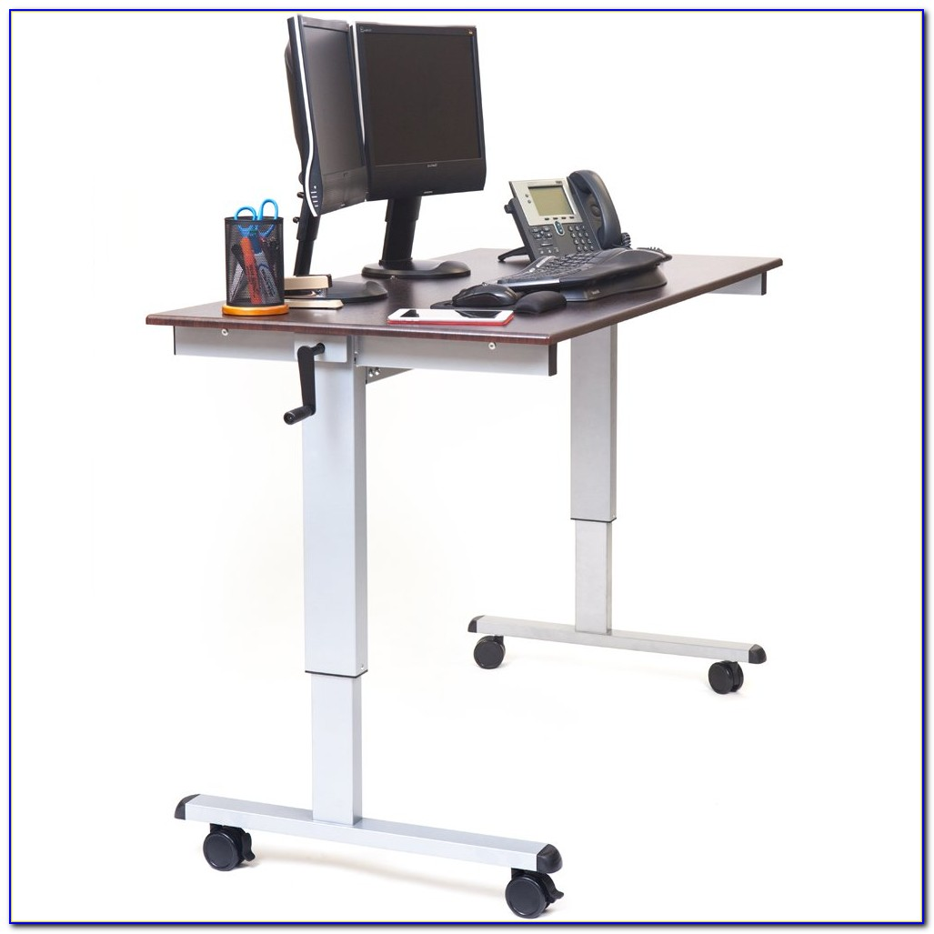 Stand Up Office Designs : Stand up adjustable office desk home design ideas